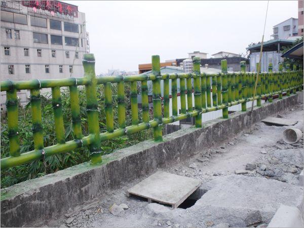 31.水泥仿竹木欄杆
