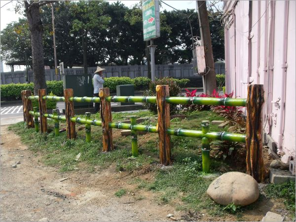 27.水泥仿竹木欄杆(二支形)