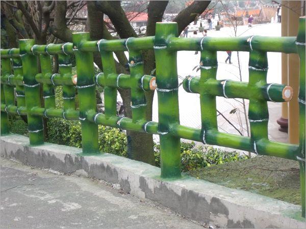 24.水泥仿竹木欄杆(三支形)