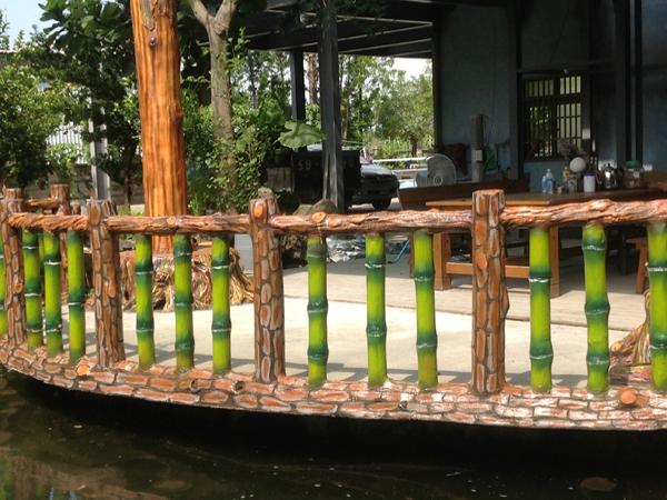 21.水泥仿竹木欄杆(三支形)