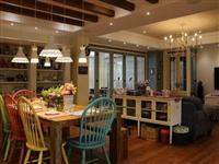 美式鄉村風格設計_餐廳