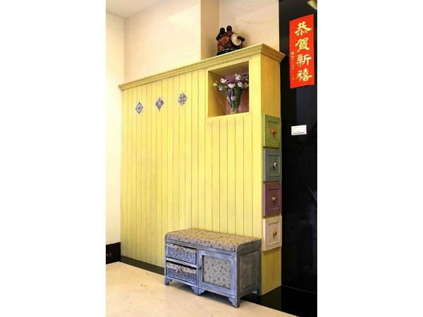 美式簡約風格設計_鞋櫃