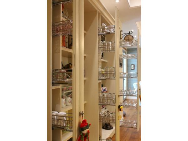 美式簡約風格設計_廚房收納櫃