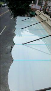 造型雨遮工程