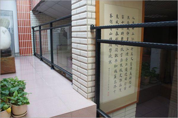 玻璃欄杆扶手