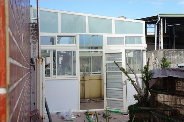 頂樓玻璃屋
