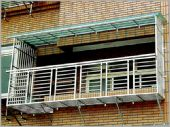 不銹鋼花架窗