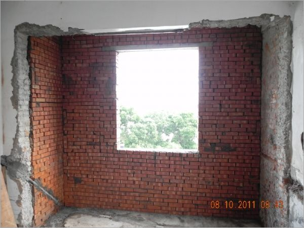 室內磚牆隔間