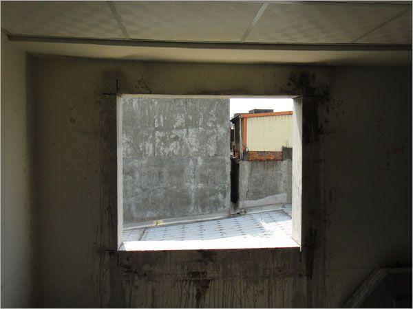 開窗切割完成