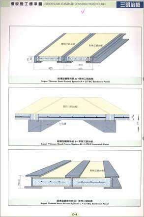 三明治板樓板工程
