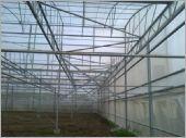 H鋼鋼骨結構風頭方管斜撐宇內八斜撐固定在風頭結構完成外觀