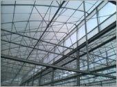 H型鋼鋸齒型力霸溫室工程