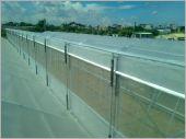 鋸齒型H鋼鋼骨結構1.7米通風口結構完成施工外觀