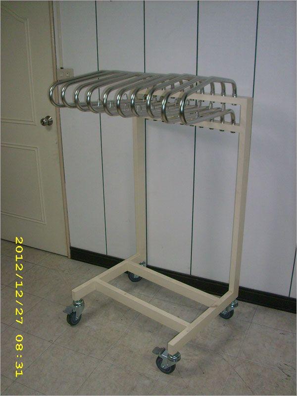 十件式移動型鉛衣架