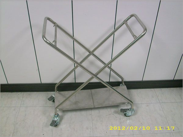 摺疊置物車.不銹鋼摺疊置物車