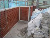 女兒牆砌磚工程