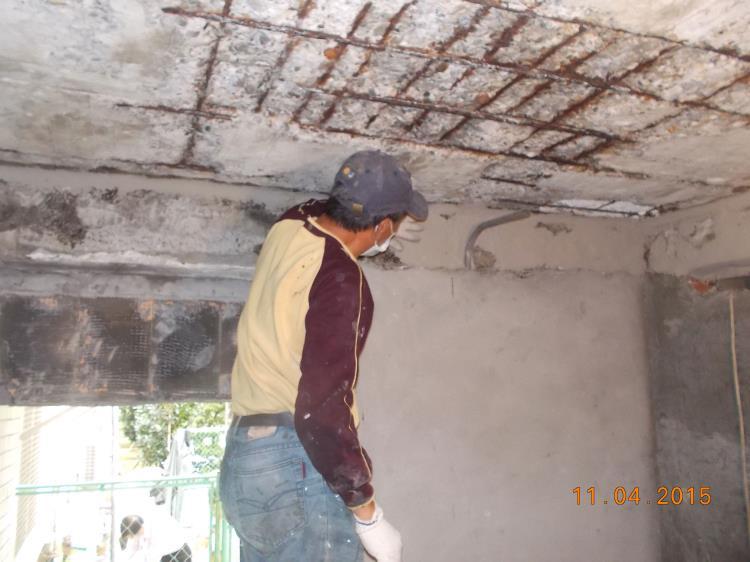 樹脂砂漿結構補強工程