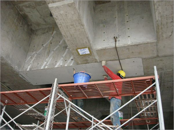 鋼板結構補強工程