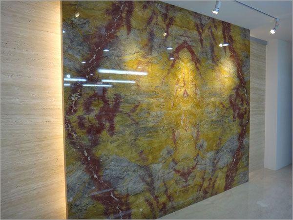 黃金琉璃背牆