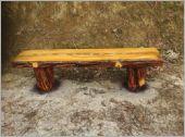 11.水泥仿木椅