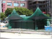 台中造景湖心亭積層玻璃