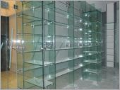 格間積層玻璃架