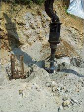 80CM排樁施工