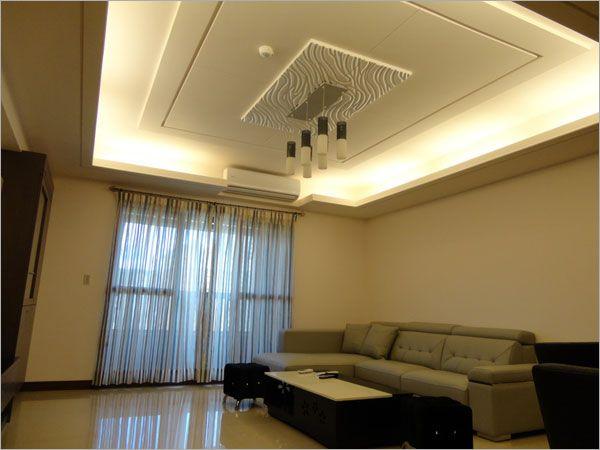 客厅天花照明-威和室内装修企业有限公司-建筑世界()