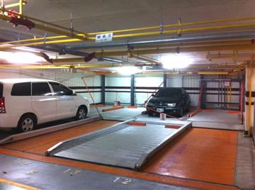 中下雙層重列式智慧型停車設備FD-12DL