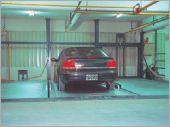 二層油壓平面車台式停車設備FD-8FL