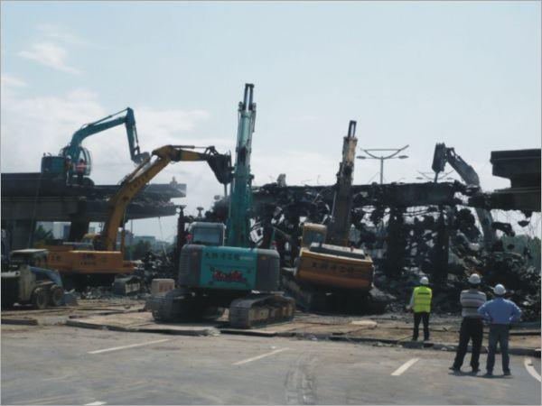 新生高架橋拆除工程