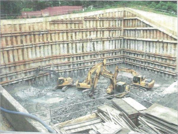 地下室開挖工程