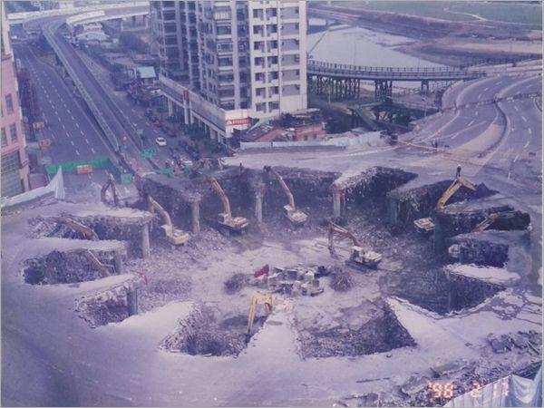 橋樑鋼筋拆除工程