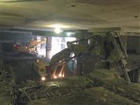 內湖双湖匯-地下室逆打拆除