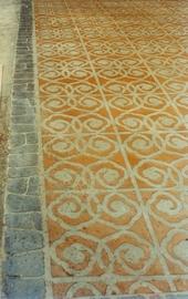 紙模彩繪地坪