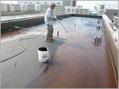 橡化瀝青加玻纖網防水
