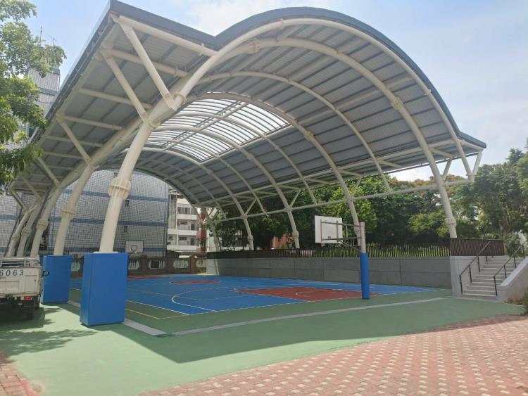 台中東方之冠-頂樓會議廳穹頂鋼構