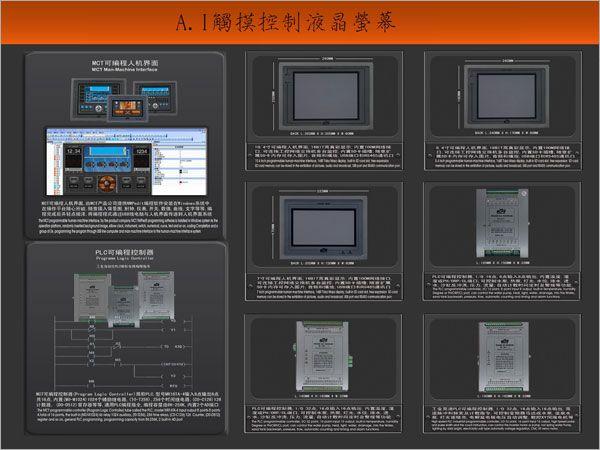 觸摸控制液晶螢幕