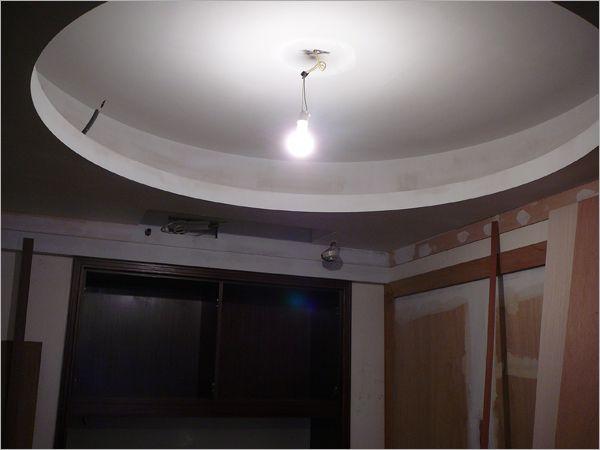 客厅造型天花板 - 装潢工程实绩