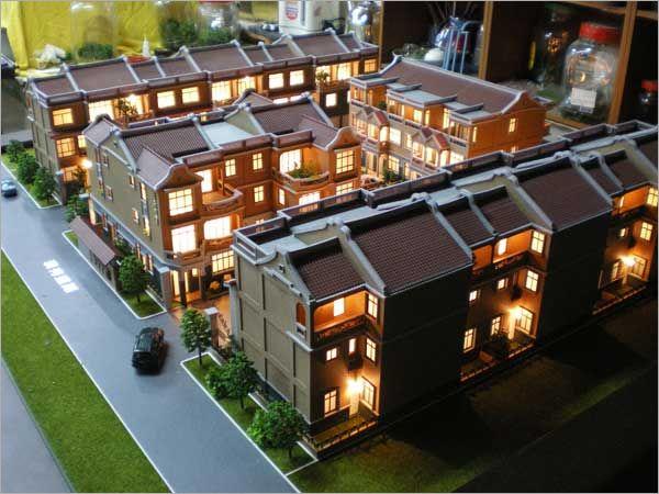 建築模型-透天模型