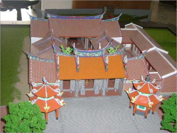 建築模型-古蹟模型