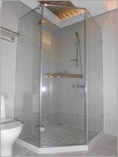 衛浴空間設計(無框 五角型推拉)-14