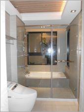 衛浴空間設計(無框 一字推拉)-18