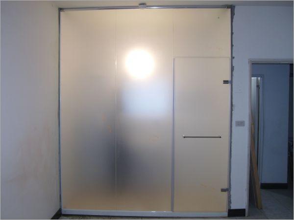 衛浴空間設計(無框 封頂 一字推拉)-26
