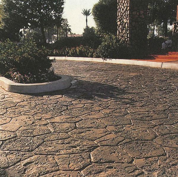 玻美耐彩色壓花地坪