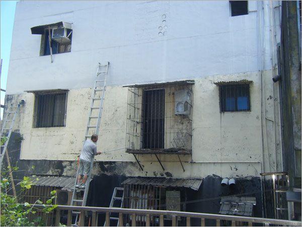 外牆防水隔熱