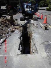 地面挖土機開挖工程
