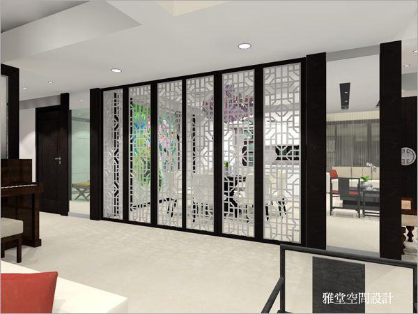商业空间设计_时尚中国风饭店