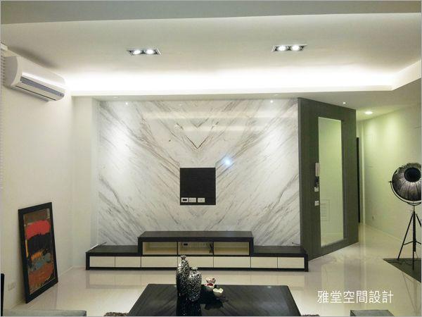 住宅设计_客厅电视墙造型图片