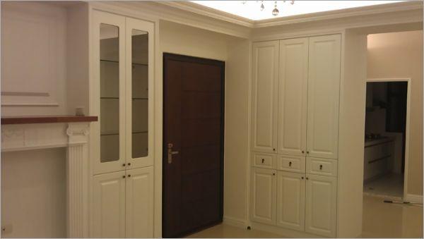 木工客厅隔断玄关